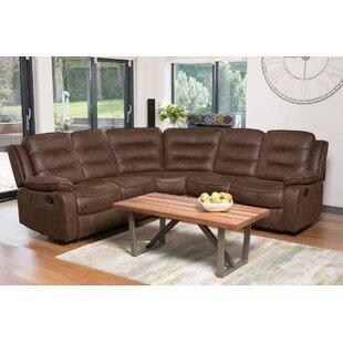 Leather Corner Recliner Sofa   Wayfair.co.uk