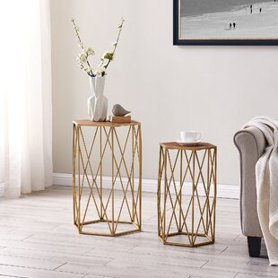 Twitty 2 Piece Nesting Tables by Ivy Bronx