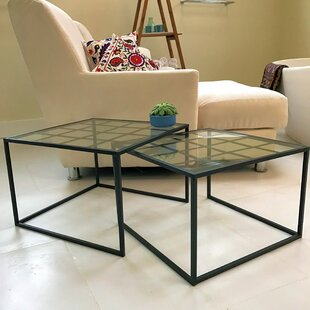 Iconic 2 Piece Nesting Tables by Whole House Worlds