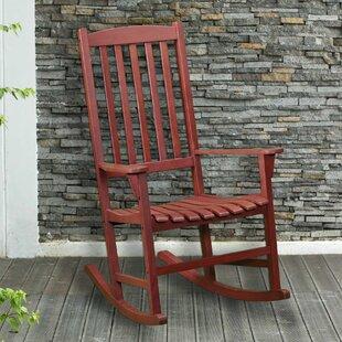 Wildon Home ® Alden Porch Rocking Chair