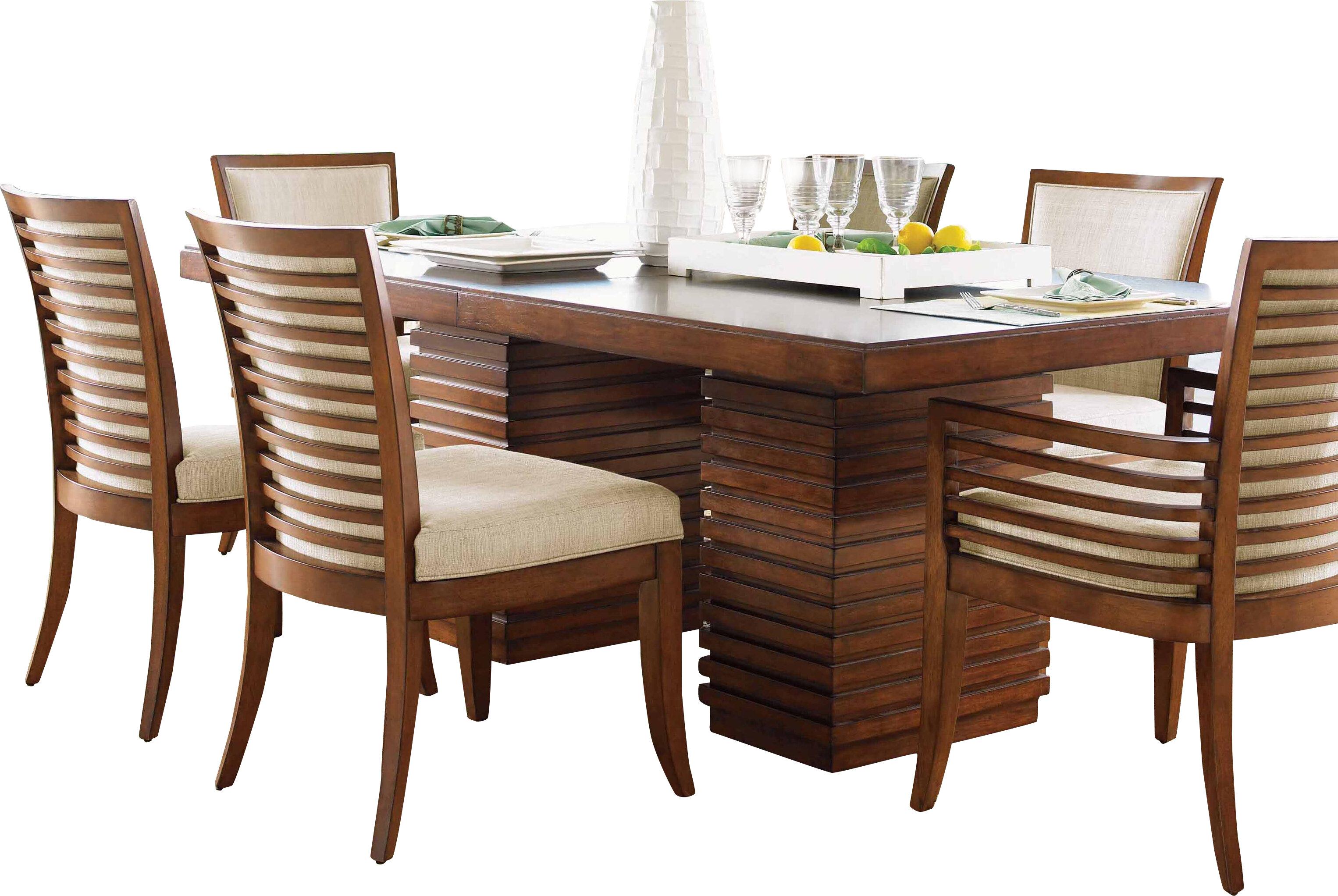Tommy Bahama Home Ocean Club Peninsula Dining Table | Wayfair