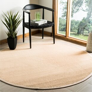 Milikouri Natural/Ivory Area Rug by Bay Isle Home