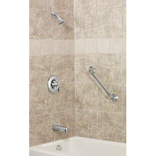 Eva Tub and Shower Faucet Trim with Posi-Temp