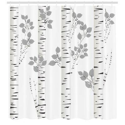 Gray Amp Silver Long 72 Quot X 84 Quot Shower Curtains You Ll Love