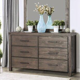 Blackburn 6 Drawer Double Dresser
