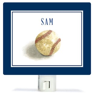 Oopsy Daisy Personalized Sports and Games Game Ball Canvas Night Light