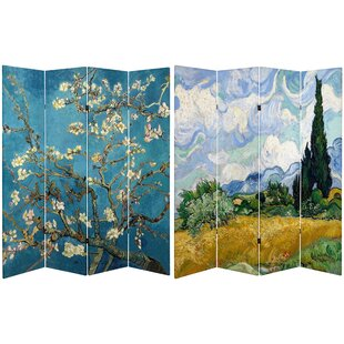 Darby Home Co Carterville 4 Panel Room Divider