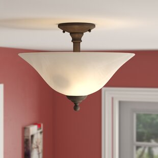Baum 3-Light Semi Flush Mount