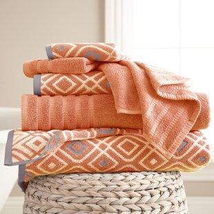 Mims 6 Piece 100% Cotton Towel Set By Wrought Studio