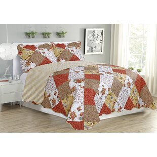 Jennifer 3 Piece Reversible Quilt Set