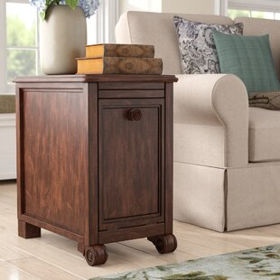 Wendell End Table With Storage Alcott Hill