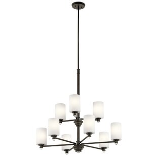 Bourdeau 9-Light Shaded Chandelier by Darby Home Co