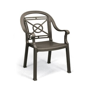 Victoria Stacking Patio Dining Chair (Set of 4)