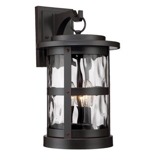 Inexpensive Terraze 3-Light Outdoor Wall Lantern By Designers Fountain