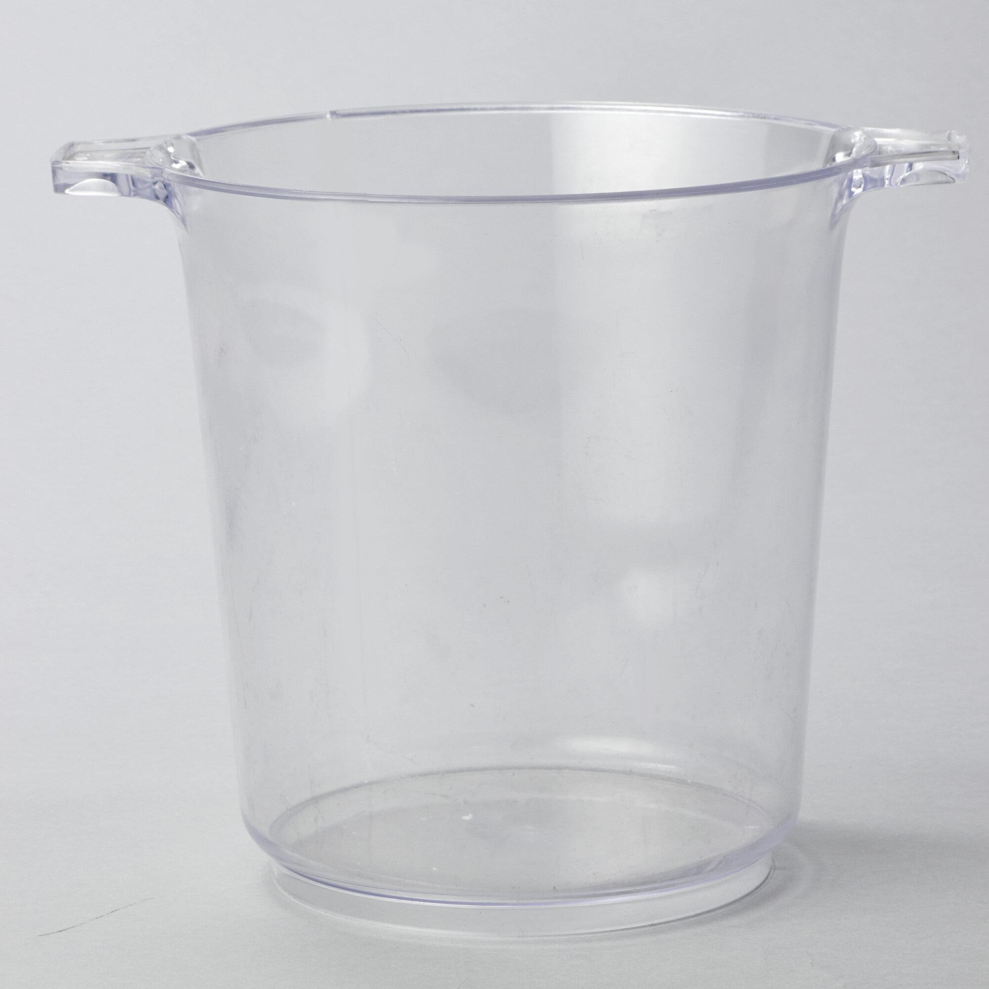 Rebrilliant Hong 1 Gallon Plastic Ice Bucket Set Of 12 Wayfair
