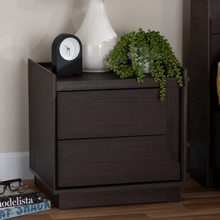 Searching for Maximillian 2 Drawer Nightstand by Ebern Designs
