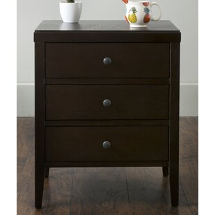 Compare Rushville 3 Drawer Nightstand By Andover Mills