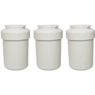 Crucial GE Refrigerator/Icemaker Water Purifier Filter (Set of 3)