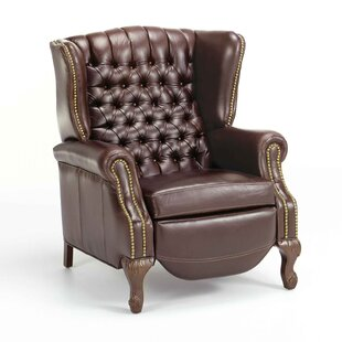 Ashbourne Leather Manual Recliner