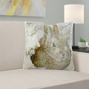 Mcmurray Snow Bunny Pillow Cover