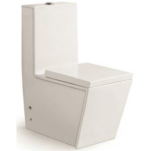 Morenobath Aqua Dual Flush Rund One-Piece Toilet