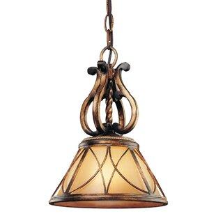 Astoria Grand Mcmillian 1-Light Cone Pend..