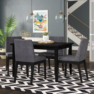 Della 5 Piece Dining Set by Iv..