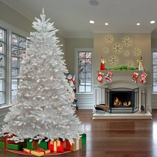 White Christmas Trees You Ll Love In 2019 Wayfair