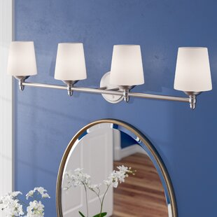 Best Price Lafrance 4-Light Vanity Light By Red Barrel Studio