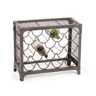 Farryn 12 Bottle Tabletop Wine Rack by 17..