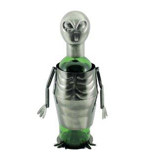 Maude UFO Alien Metal 1 Bottle Tabletop W..