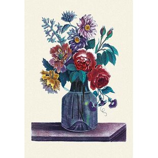 Vase With Flowers Painting Wayfair