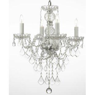 House of Hampton Kephart 4-Light Candle S..