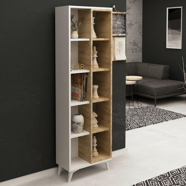 Ebern Designs Janda Bookcase Wayfair Co Uk