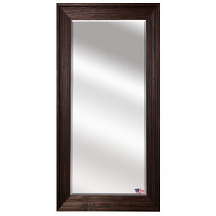 Effingham Barnwood Beveled Wall Mirror