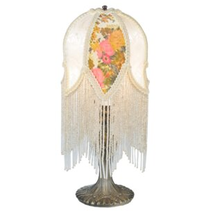 Fringe Victorian Tulip 15 Table Lamp