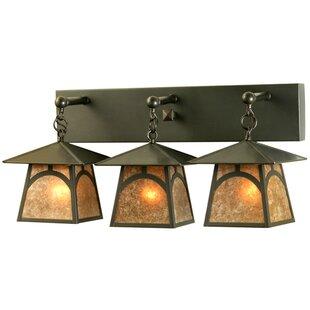 Stillwater Hill Top 3-Light Vanity Light by Meyda Tiffany