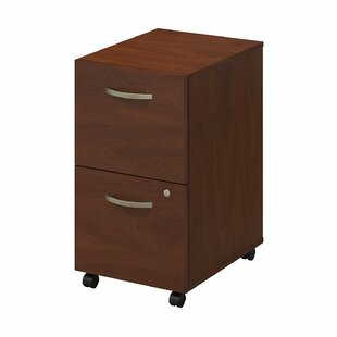 Series C Elite Pedestal 2 Drawer Mobile Vertical File by Bush Business Furniture Amazing