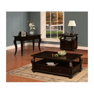 Charleen 3 Piece Coffee Table Set by Andrew Home Studio