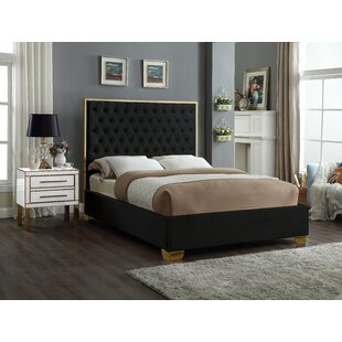 Spadaro Upholstered Platform Bed by Everly Quinn