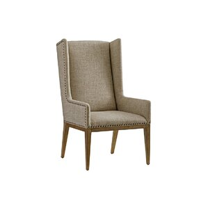 Cypress Point Wingback Chair by Tommy Bahama..