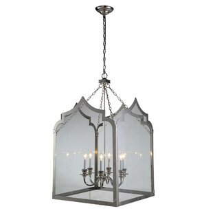 Gracie Oaks Boonton 6-Light Foyer Pendant