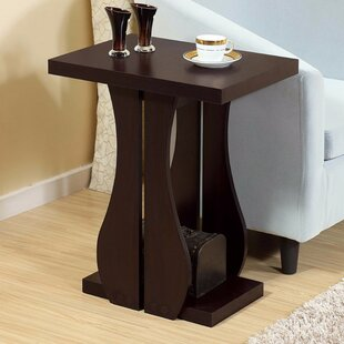McNulty Sophisticated Contemporary End Table by Ebern Designs