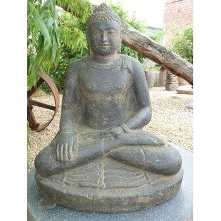 Vicksburg Sitting Indian Buddha Statue By World Menagerie
