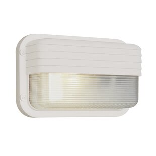 Neroni 1-Light Outdoor Bulkhead Light By Ebern Designs Outdoor Lighting