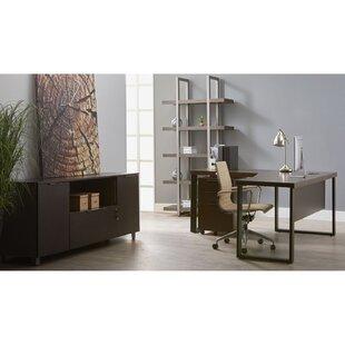 Ebern Designs Albin 5 Piece Office Suite