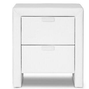 Ginyard 2 Drawer Nightstand by Orren Ellis