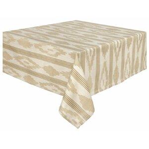 Cumulus 100% Cotton Striped Jacquard Tablecloth