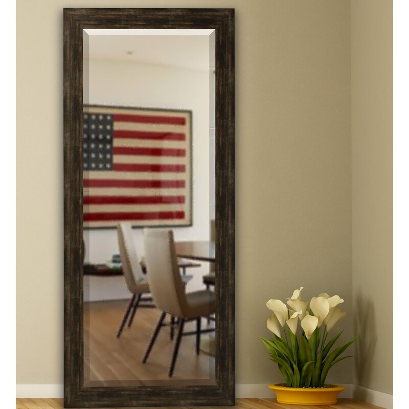 Trent Austin Design Tarpon Brushed Classic Extra Tall Floor Mirror ...