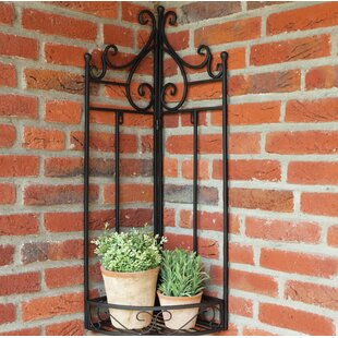 Corner Frame Wall Plant Stand By Castleton Home